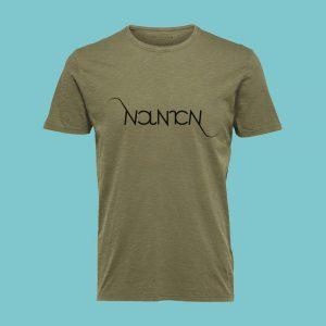 tshirt-ambigramme-kaki-homme